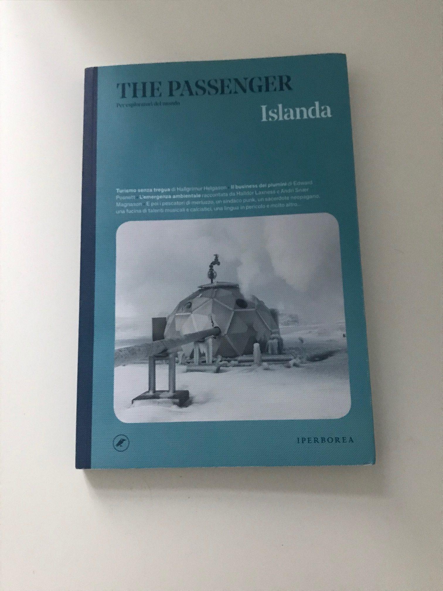 The passenger Islanda