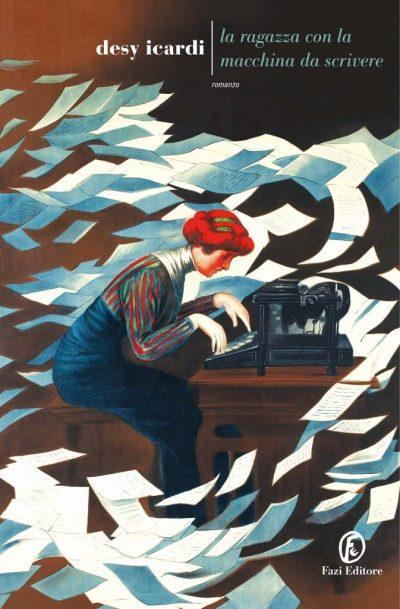 Copertina di La ragazza con la macchina da scrivere